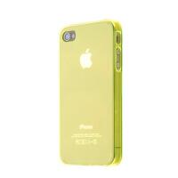 1件包邮  苹果 iphone 4/4S保护壳 外壳 保护套 手机壳透明色水晶壳底壳