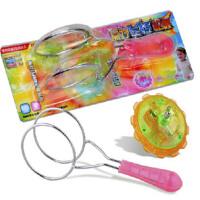 魔力飞转陀螺玩具 轨道七彩发光溜溜球 磁铁吸附旋转陀螺风火轮