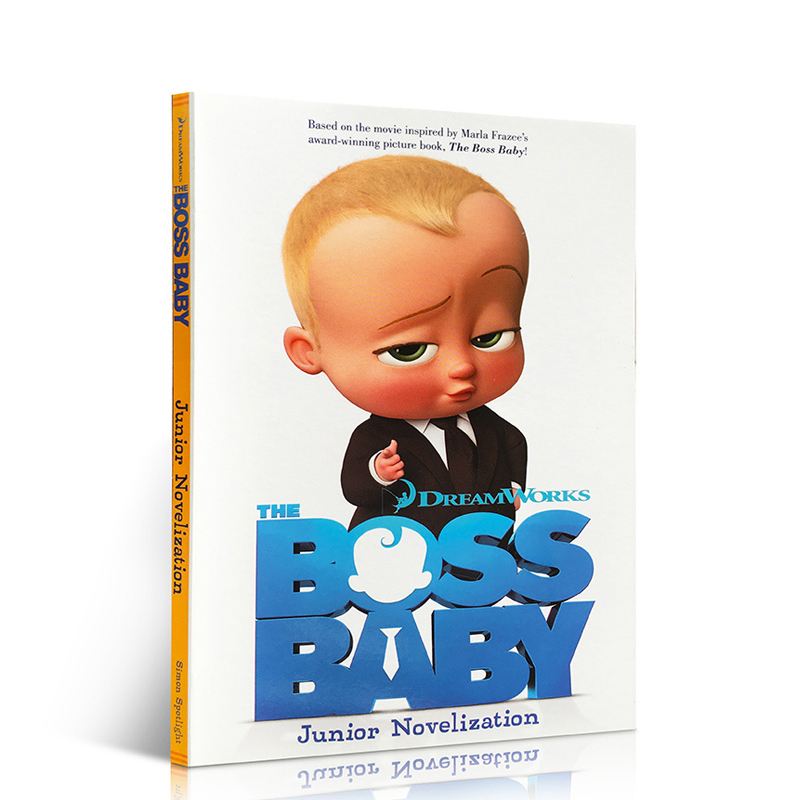 英文原版 the boss baby junior novelization 宝贝老板电影小说书 7