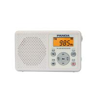 【当当自营】 熊猫/PANDA 6105 收音机老人迷你便携式随身听袖珍式半导体 白色