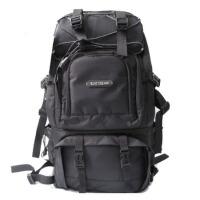 摄影包专业双肩单反相机包 佳能多功能户外双机大容量背包 黑色 33*18*49CM