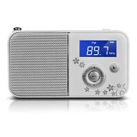 【当当自营】 熊猫/PANDA DS-111 数码音响播放器 插卡音箱 立体声收音机 白色