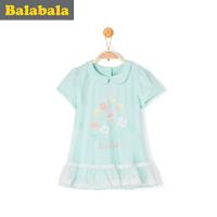 巴拉巴拉女童短袖t恤小童宝宝上衣童装夏装儿童小清新T恤