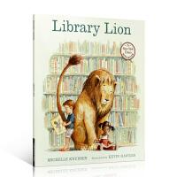 Library Lion 图书馆狮子 爱读书、懂感恩的狮子 儿童英文原版经典绘本 图画故事书 在这本绘本里,蕴含着很多的深意,最重要的道理是这是一只报恩的好狮子