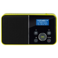 【当当自营】 熊猫/PANDA DS-116 数码音响播放器 插卡音箱 一键录音立体声收音机 黄色