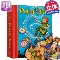 Peter Pan Pop-Up 小飞侠/彼得潘立体书 儿童玩具英文原版