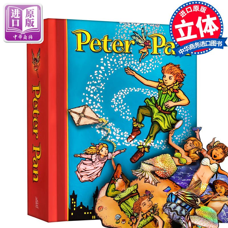 《Peter Pan Pop-Up 小飞侠\/彼得潘立体书 儿童