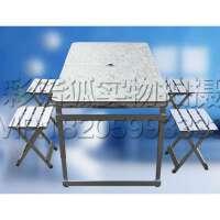 摆摊桌折叠桌椅餐桌户外铝合金 电脑桌书桌折叠桌子简约书桌学习桌