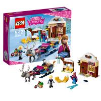 [当当自营]LEGO 乐高 迪士尼系列 安娜与克斯托夫的雪橇探险 积木拼插儿童益智玩具 41066