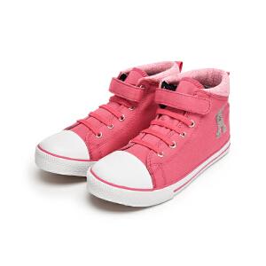 巴拉巴拉童鞋女童帆布休闲鞋女中大童鞋子秋季儿童学生童鞋女