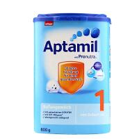 【当当海外购】德国进口 Aptamil爱他美 婴幼儿配方奶粉 1段800g(0-6个月 )保质期到18年4月-5月底左右