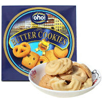 [当当自营] 马来西亚进口 欧罐 oho! 曲奇饼干 100g