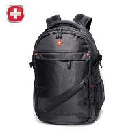 瑞士军刀男女双肩包时尚书包大容量旅行包 商务背包双肩电脑背包韩版SA-006