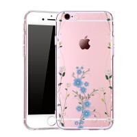 Q果 苹果6sPlus水钻iphone6Plus手机壳硅胶奢华女防摔外壳日韩软