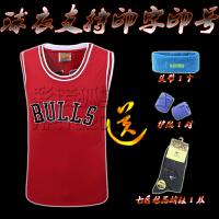2016新款公牛队经典乔丹23号红色篮球服 大学生篮球衣训练队服套装 透气印号印字定制 33号皮蓬91号大虫罗德曼54号格兰特湖人队24号科比勇士队30号库里篮球服骑士队23号詹姆斯2号欧文3号艾弗森球衣