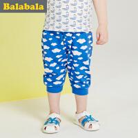 巴拉巴拉男童中裤小童宝宝七分裤夏季童装儿童裤子童裤男