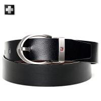 瑞士军刀休闲男士时尚皮带商务腰带针扣皮带BA460632