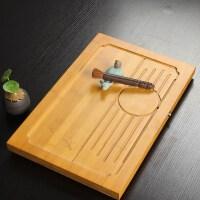 尚帝 竹制整板(梅)茶盘 排水式茶盘 功夫茶具必备 特价茶海S-2014WPCP31D