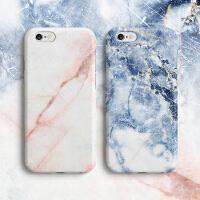 iphone6plus/6s个性女款简约新款    艺术原创设计    玫瑰石英大理石 苹果6情侣手机壳             (单只价格请备注款式 粉红为 玫瑰石英 & 蓝色为 宁静河畔)