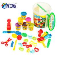 橡皮泥正品无毒3d 彩泥模具套装 多色手工彩泥 儿童玩工具