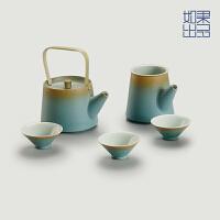 [如果出品】境湖 原创陶瓷功夫茶具套装茶壶茶杯整套茶道茶具礼物