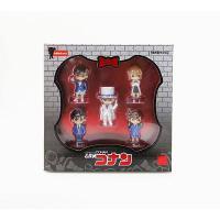 动漫手办玩具 5款名侦探柯南盒装 5个一盒工藤新一基德