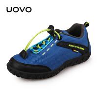 UOVO2017新款童鞋男女童鞋休闲鞋运动轻便网布时尚透气 大堡礁