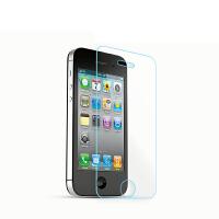 羽博iphone4S钢化玻璃膜前直边弧边高清防爆指纹苹果手机保护贴膜