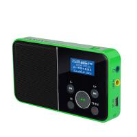 【当当自营】 熊猫/PANDA DS-116 数码音响播放器 插卡音箱 一键录音立体声收音机 绿色