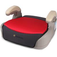 【当当自营】英国zazababy汽车用儿童安全增高座垫 4-12岁宝宝车载坐垫 黑红