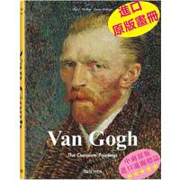 梵高画册 英文原版Van Gogh进口画册 原版艺术画册 欧洲西方油画绘画