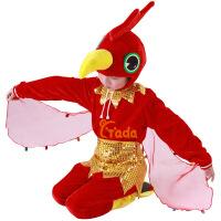 男女儿童演出 动物表演冬 跳舞蹈衣服装 小公鸡连体衣套装春秋季