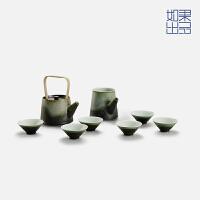 【如果出品】陶瓷功夫茶杯茶壶茶具套装茶道全套礼品礼物