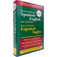 华研原版 韦氏西班牙语英语双向词典 Marriam-Webster Spanish-English Dictionary 英文原版字典