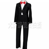西服男士礼服表演指挥主持人服装 男士演出服套装黑色西装