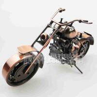 大号铁艺摩托车模型摆件金属工艺品商务礼品创意实用男生日毕业礼物送朋友