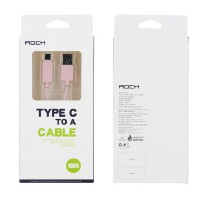 ROCK USB3.0 Type-c数据线 小米4c乐视手机n1一加2转接头充电线器