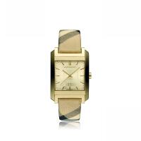 巴宝莉(BURBERRY)手表 时尚格纹表带男表