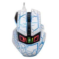 力胜 G28CW 游戏竞技鼠标 裂纹 七色灯 炫光 电竞鼠标
