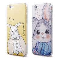 【全国包邮】hidog 苹果iPhone6plus手机壳5.5卡通防摔6splus保护套软硅胶外壳