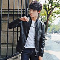 秋装新款韩版修身男士夹克 男潮男装外套夹克衫上衣男