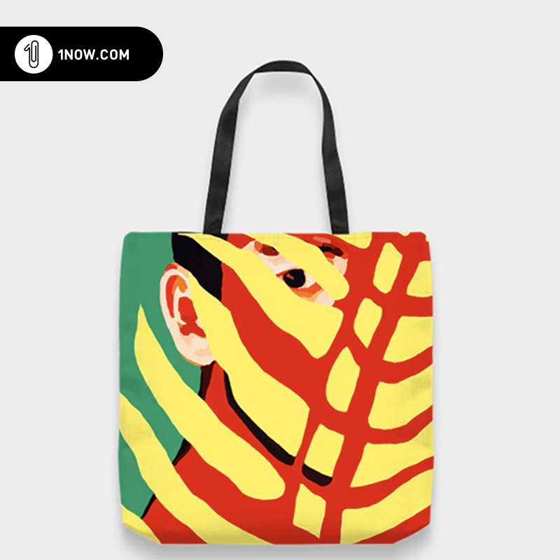 「玩闹智造」原创手绘插画parabellum个性帆布tote包环保袋潮包邮