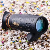 2016新品BIJIA带遮光眼罩爵士10x42单筒望远镜高倍高清夜视非红外