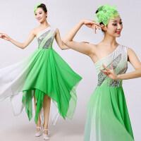 演出服2016新款秧歌服伴舞古典舞伞舞现代舞舞蹈广场舞服装女