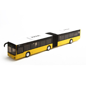 [当当自营]siku 德国仕高 1:50 铰接式公共汽车9 合金车模玩具 U3736
