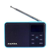 【当当自营】 熊猫/PANDA DS-131 数码音响播放器 插卡音箱 立体声收音机 蓝色
