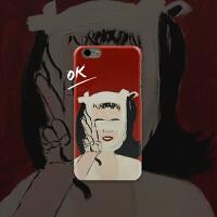 「玩闹智造」原创设计插画iPhone6s/6Plus个性创意手机壳女包邮