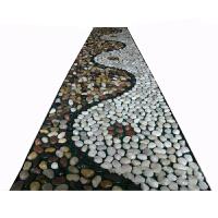 雨花石按摩垫 保健鹅卵石脚底部足疗 老年人保健雨花石