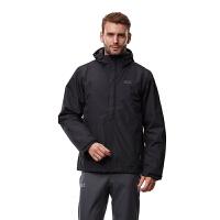 狼爪(Jack Wolfskin)男士防风防水保暖三合一冲锋衣1103931