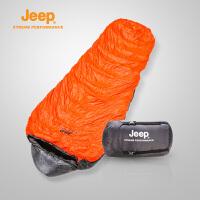 Jeep/吉普 羽绒睡袋冬轻盈加厚户外防寒保暖野营睡袋J640710002